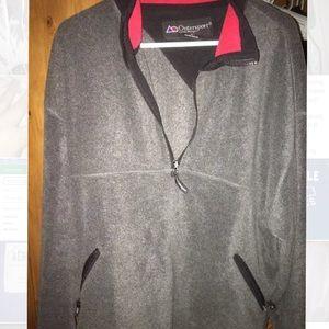 Men's partial zip Pullover Size XL
